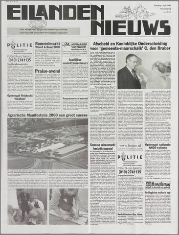 Eilanden-nieuws. Christelijk streekblad op gereformeerde grondslag 2000-07-04