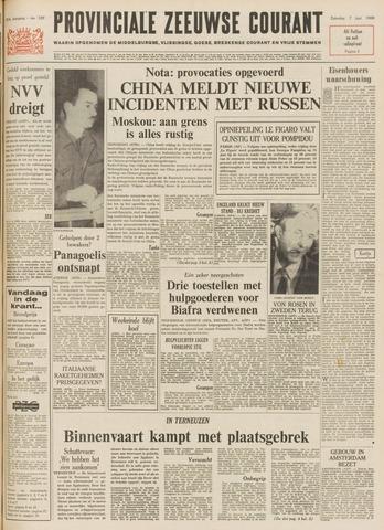 Provinciale Zeeuwse Courant 1969-06-07