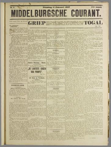 Middelburgsche Courant 1927-01-11