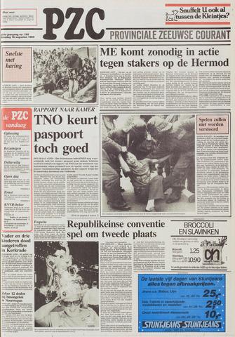 Provinciale Zeeuwse Courant 1988-08-16