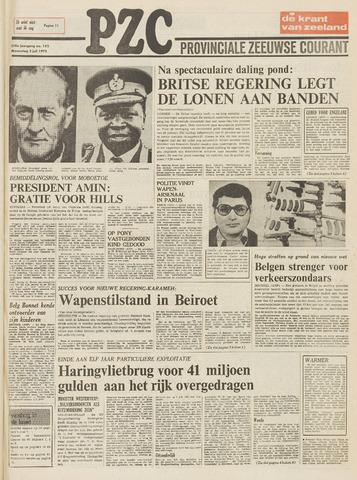 Provinciale Zeeuwse Courant 1975-07-02