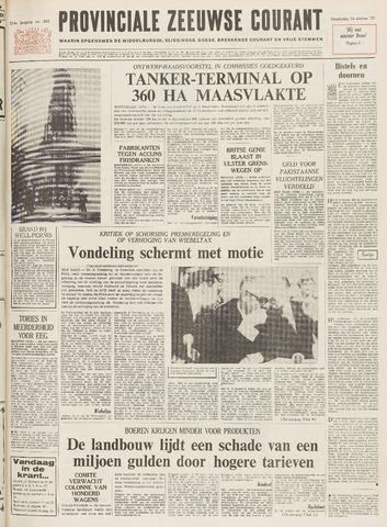 Provinciale Zeeuwse Courant 1971-10-14