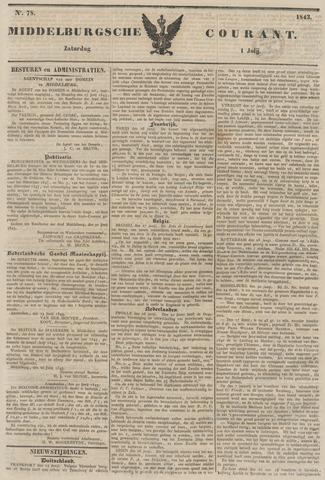 Middelburgsche Courant 1843-07-01