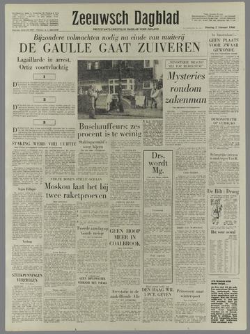 Zeeuwsch Dagblad 1960-02-02
