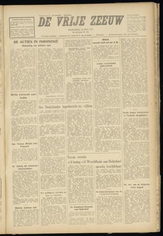 de Vrije Zeeuw 1947-07-30