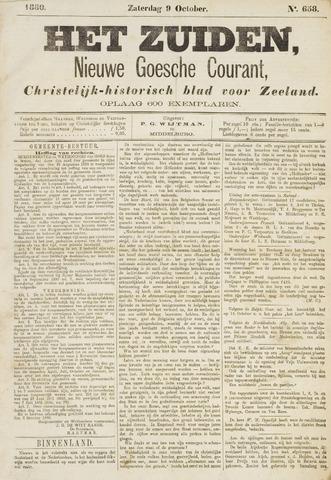 Het Zuiden, Christelijk-historisch blad 1880-10-09