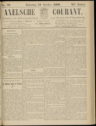 Axelsche Courant 1908-10-31