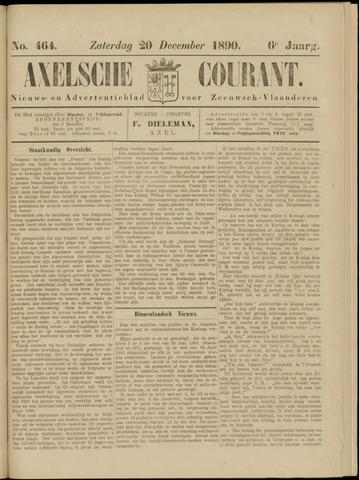 Axelsche Courant 1890-12-20