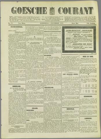 Goessche Courant 1932-11-03