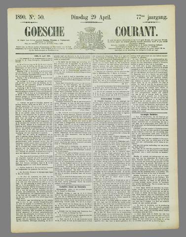 Goessche Courant 1890-04-29