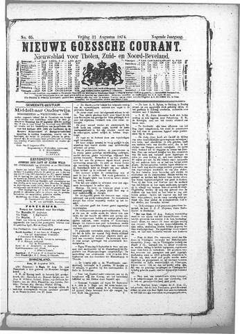 Nieuwe Goessche Courant 1874-08-21