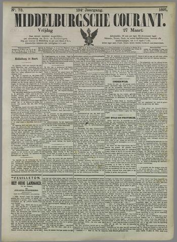 Middelburgsche Courant 1891-03-27