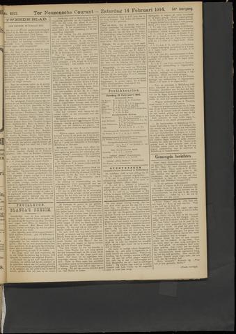 Ter Neuzensche Courant. Algemeen Nieuws- en Advertentieblad voor Zeeuwsch-Vlaanderen / Neuzensche Courant ... (idem) / (Algemeen) nieuws en advertentieblad voor Zeeuwsch-Vlaanderen 1914-02-14