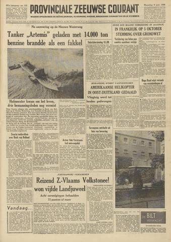 Provinciale Zeeuwse Courant 1958-06-09