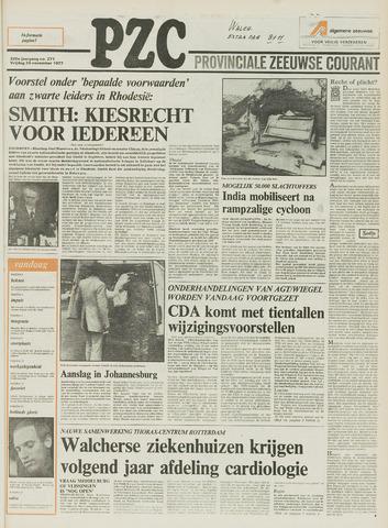 Provinciale Zeeuwse Courant 1977-11-25