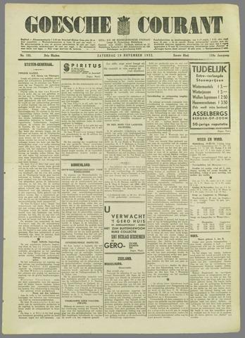 Goessche Courant 1932-11-19