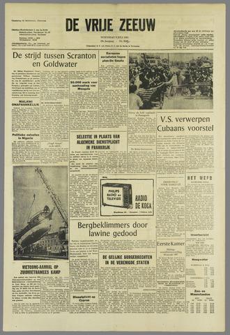 de Vrije Zeeuw 1964-07-08