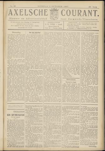 Axelsche Courant 1937-10-05