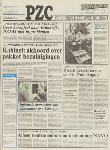 Provinciale Zeeuwse Courant 1981-08-28