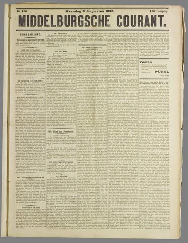 Middelburgsche Courant 1925-08-03