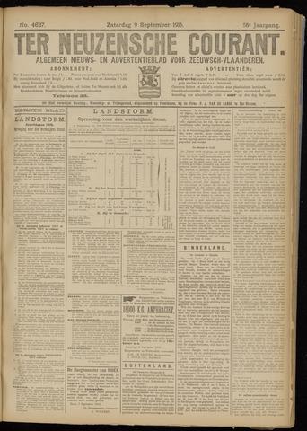 Ter Neuzensche Courant. Algemeen Nieuws- en Advertentieblad voor Zeeuwsch-Vlaanderen / Neuzensche Courant ... (idem) / (Algemeen) nieuws en advertentieblad voor Zeeuwsch-Vlaanderen 1916-09-09