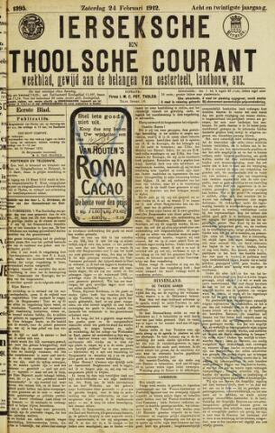 Ierseksche en Thoolsche Courant 1912-02-24