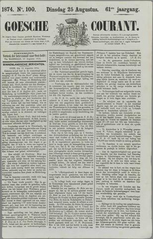 Goessche Courant 1874-08-25