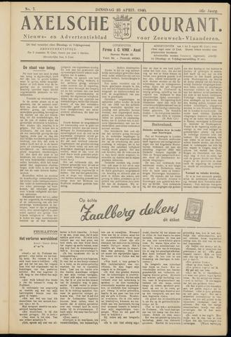 Axelsche Courant 1940-04-23