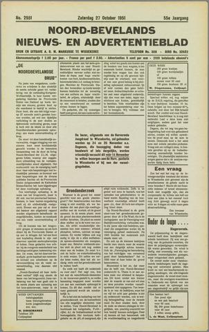 Noord-Bevelands Nieuws- en advertentieblad 1951-10-27