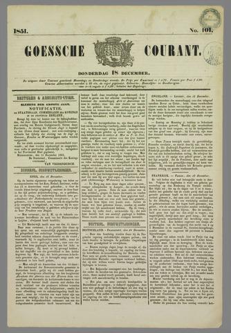 Goessche Courant 1851-12-18