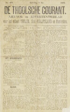 Ierseksche en Thoolsche Courant 1885-05-09