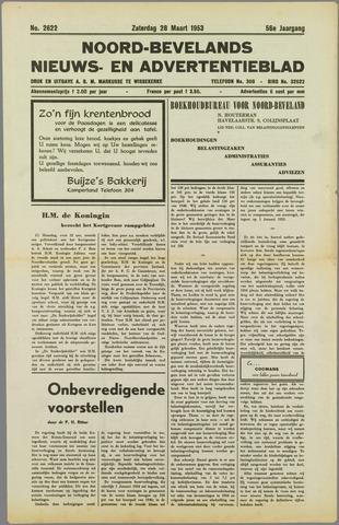 Noord-Bevelands Nieuws- en advertentieblad 1953-03-28