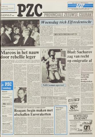 Provinciale Zeeuwse Courant 1986-02-24