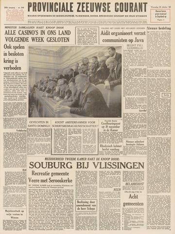 Provinciale Zeeuwse Courant 1965-10-20
