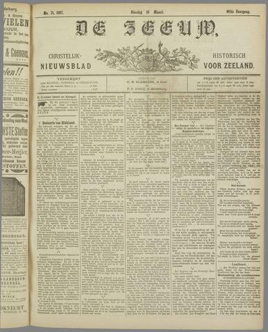 De Zeeuw. Christelijk-historisch nieuwsblad voor Zeeland 1897-03-16