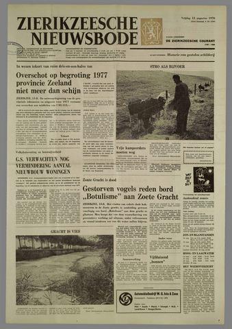 Zierikzeesche Nieuwsbode 1976-08-13