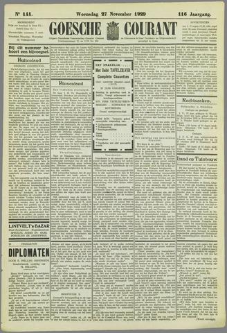 Goessche Courant 1929-11-27
