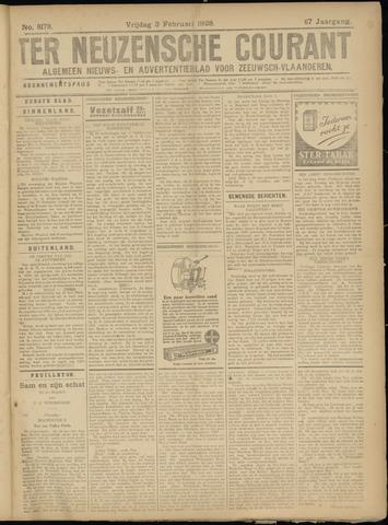 Ter Neuzensche Courant. Algemeen Nieuws- en Advertentieblad voor Zeeuwsch-Vlaanderen / Neuzensche Courant ... (idem) / (Algemeen) nieuws en advertentieblad voor Zeeuwsch-Vlaanderen 1928-02-03