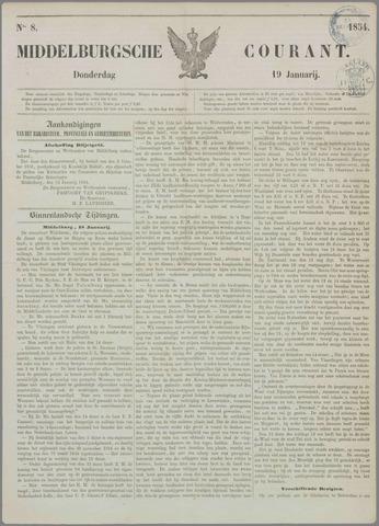 Middelburgsche Courant 1854-01-19