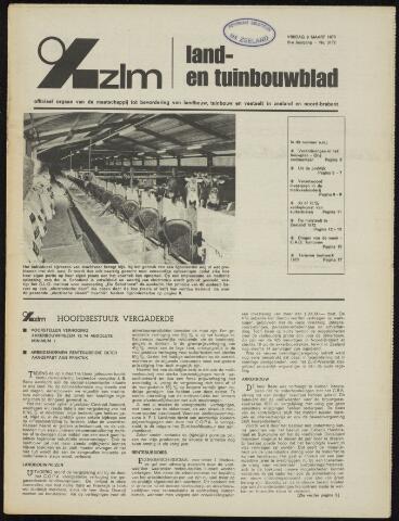 Zeeuwsch landbouwblad ... ZLM land- en tuinbouwblad 1973-03-09