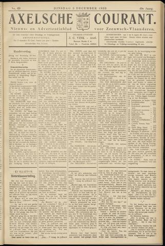 Axelsche Courant 1933-12-05