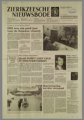 Zierikzeesche Nieuwsbode 1983-04-25