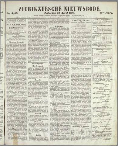 Zierikzeesche Nieuwsbode 1881-04-30