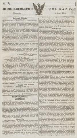 Middelburgsche Courant 1834-03-27