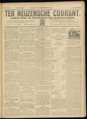 Ter Neuzensche Courant. Algemeen Nieuws- en Advertentieblad voor Zeeuwsch-Vlaanderen / Neuzensche Courant ... (idem) / (Algemeen) nieuws en advertentieblad voor Zeeuwsch-Vlaanderen 1933-11-27