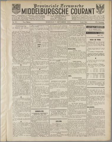 Middelburgsche Courant 1932-09-07