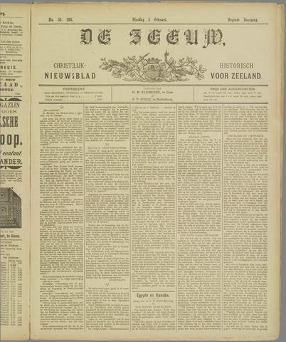 De Zeeuw. Christelijk-historisch nieuwsblad voor Zeeland 1895-02-05