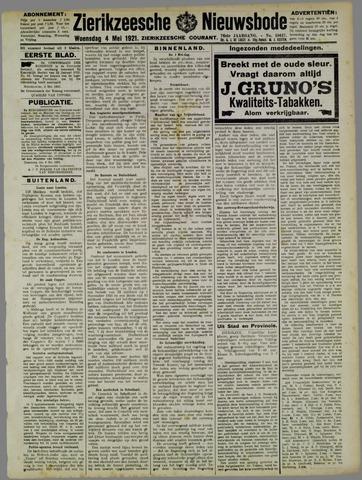 Zierikzeesche Nieuwsbode 1921-05-04