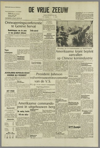 de Vrije Zeeuw 1966-01-28