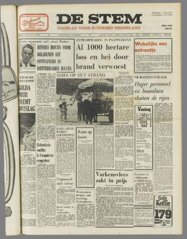de Stem 1974-04-11